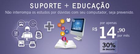 Suporte + Educação